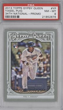 2013 Topps Gypsy Queen National Convention National Convention [Base] #NCC-YP - Yasiel Puig [PSA 8]