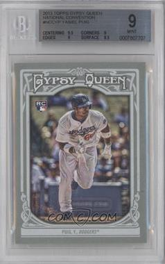 2013 Topps Gypsy Queen National Convention National Convention [Base] #NCC-YP - Yasiel Puig [BGS9]