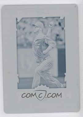 2013 Topps Gypsy Queen No-Hitters Printing Plate Cyan #NH-RH - Roy Halladay /1