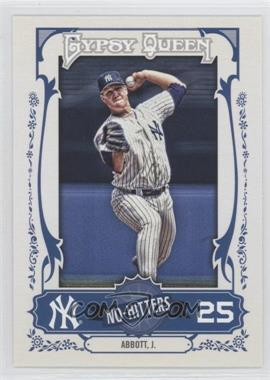 2013 Topps Gypsy Queen No-Hitters #NH-JA - Jim Abbott