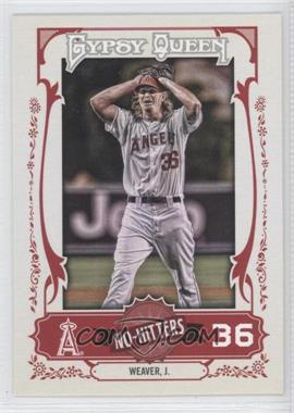 2013 Topps Gypsy Queen No-Hitters #NH-JW - Jered Weaver