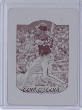2013 Topps Gypsy Queen Printing Plate Magenta #100 - Bryce Harper /1