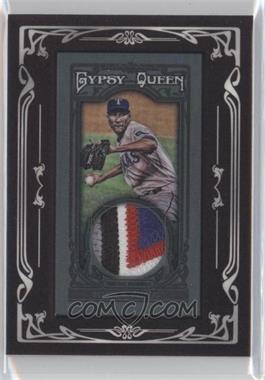 2013 Topps Gypsy Queen Relics Mini Black Relics #GQMR-AO - Alexi Ogando /10