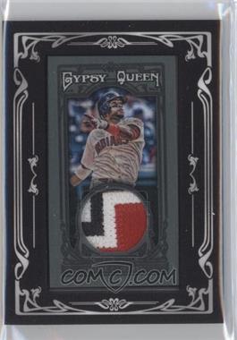 2013 Topps Gypsy Queen Relics Mini Black Relics #GQMR-CS - Carlos Santana /10