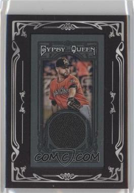 2013 Topps Gypsy Queen Relics Mini Black Relics #GQMR-RN - Ricky Nolasco /10