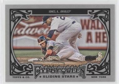 2013 Topps Gypsy Queen Sliding Stars #SS-AJO - Adam Jones