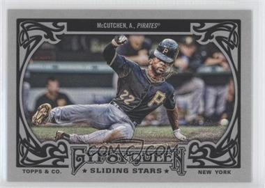 2013 Topps Gypsy Queen Sliding Stars #SS-AM - Andrew McCutchen