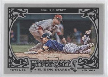 2013 Topps Gypsy Queen Sliding Stars #SS-CG - Carlos Gonzalez
