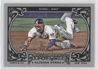 2013 Topps Gypsy Queen Sliding Stars #SS-JH - Jason Heyward