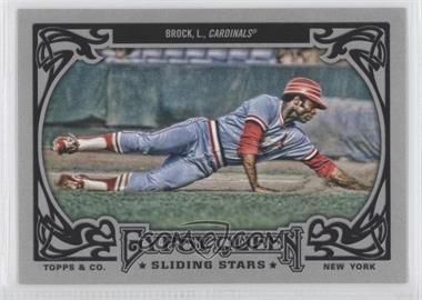 2013 Topps Gypsy Queen Sliding Stars #SS-LB - Lou Brock