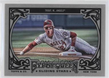 2013 Topps Gypsy Queen Sliding Stars #SS-MT - Mike Trout