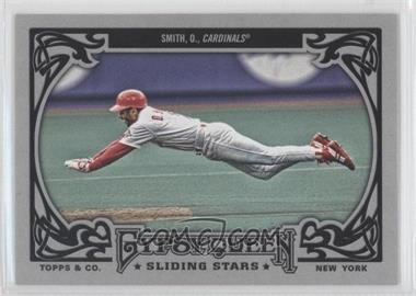 2013 Topps Gypsy Queen Sliding Stars #SS-OS - Ozzie Smith