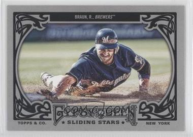 2013 Topps Gypsy Queen Sliding Stars #SS-RB - Ryan Braun