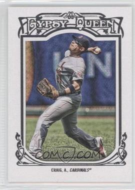 2013 Topps Gypsy Queen White Framed #105 - Allen Craig
