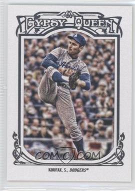 2013 Topps Gypsy Queen White Framed #137 - Sandy Koufax
