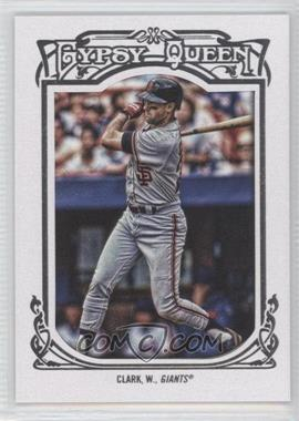 2013 Topps Gypsy Queen White Framed #163 - Will Clark