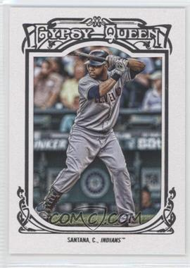 2013 Topps Gypsy Queen White Framed #179 - Carlos Santana