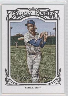 2013 Topps Gypsy Queen White Framed #200 - Ernie Banks