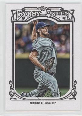2013 Topps Gypsy Queen White Framed #26 - Clayton Kershaw