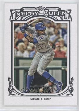 2013 Topps Gypsy Queen White Framed #335 - Alfonso Soriano