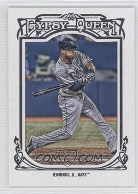 2013 Topps Gypsy Queen White Framed #337 - Desmond Jennings