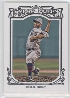 2013 Topps Gypsy Queen White Framed #86 - Mariano Rivera