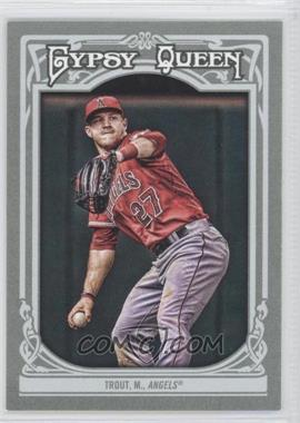 2013 Topps Gypsy Queen #14 - Mike Trout