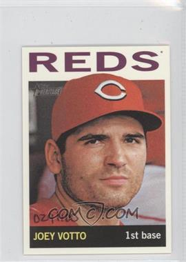 2013 Topps Heritage - [Base] - Mini #425 - Joey Votto /100