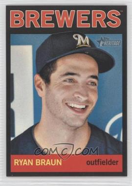 2013 Topps Heritage - [Base] - Retail Black #460 - Ryan Braun