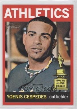2013 Topps Heritage - [Base] - Retail Red #459 - Yoenis Cespedes