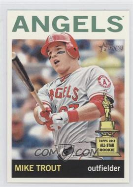 2013 Topps Heritage - [Base] - Venezuelan #430.2 - Mike Trout (Action Photo)
