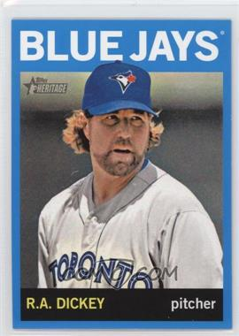 2013 Topps Heritage - [Base] - Wal-Mart Blue #464 - R.A. Dickey