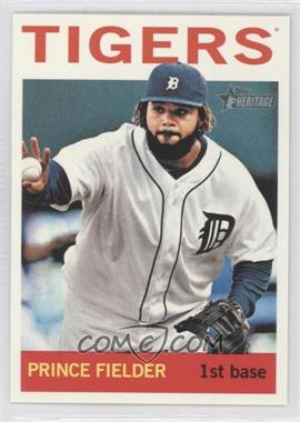 2013 Topps Heritage - [Base] #250.2 - Prince Fielder (Action Photo)
