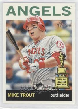 2013 Topps Heritage - [Base] #430.2 - Mike Trout (Action Photo)