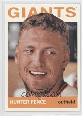 2013 Topps Heritage - [Base] #431 - Hunter Pence