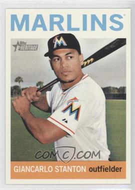 2013 Topps Heritage - [Base] #463.1 - Giancarlo Stanton (Base)
