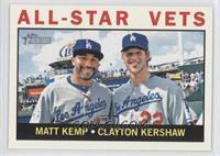 All-Star Vets (Matt Kemp, Clayton Kershaw)