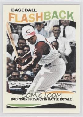 2013 Topps Heritage - Baseball Flashback #BF-FR - Frank Robinson