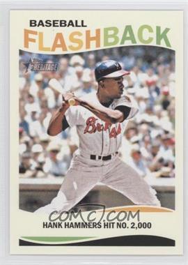 2013 Topps Heritage - Baseball Flashback #BF-HA - Hank Aaron