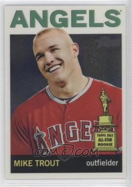 2013 Topps Heritage - Chrome #HC10 - Mike Trout /999