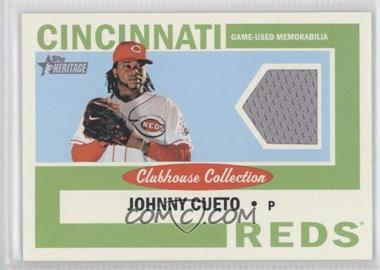 2013 Topps Heritage - Clubhouse Collection Relics #CCR-JC - Johnny Cueto