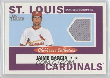 2013 Topps Heritage - Clubhouse Collection Relics #CCR-JG - Jaime Garcia