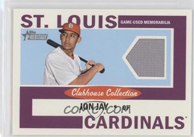 2013 Topps Heritage - Clubhouse Collection Relics #CCR-JJ - Jon Jay