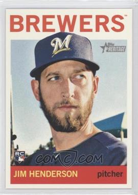 2013 Topps Heritage - High Number #H530 - Jim Henderson
