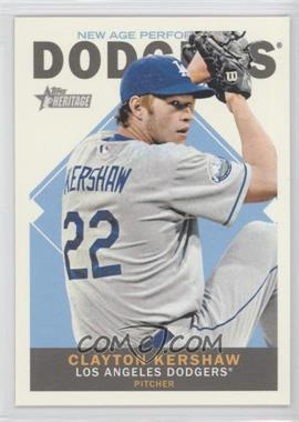 2013 Topps Heritage - New Age Performers #NAP-CK - Clayton Kershaw