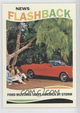 2013 Topps Heritage - News Flashback #NF-FM - Ford Mustang