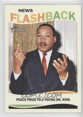 2013 Topps Heritage - News Flashback #NF-MLK - Peace Prize to a Young Dr. King