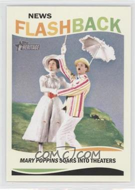 2013 Topps Heritage - News Flashback #NF-MP - Mary Poppins