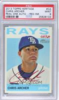 Chris Archer /64 [PSA 9]