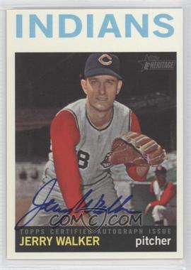 2013 Topps Heritage - Real One Certified Autographs #ROA-JW - Jerry Walker